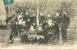 """"""" La Jeunesse Catholique De FROMEREVILLE """" (Meuse)  - Souvenir Des 6-8 Février Et 6 Mars 1910 - France"""