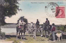 CPA - Argentine / Argentina - Un Entierro En El Campo - 1913 - Argentine