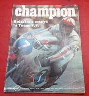 Champion N°56 Août 1970 Prototype Simca CG,Circuit Paul Ricard,Formule France Tecno,Laguépie Moto Club,Bol D'or D'antan - Auto/Motor