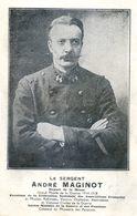 Militaria - Le Sergent André Maginot - Député De La Meuse - Escuelas