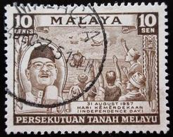 MALAYA / MALAISIE . Tengku Abdul Rahman Putra Bin Abdul Halim Schah - Federated Malay States