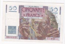 50 Francs Le Verrier 2 – 5 – 1946. Alphabet P.8 N° 21112 - 1871-1952 Antiguos Francos Circulantes En El XX Siglo