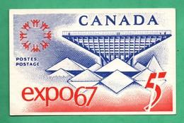 Canada Carte Maximum Expo 67 ( Format 9cm X 14cm ) - Maximumkaarten