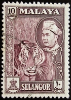 MALAYA / MALAISIE .TIGRE . SULTAN - Selangor