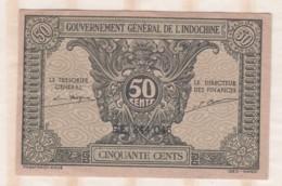 Gouvernement Général De L'Indochine, 50 Cents, N°  EE 244.046 - Indochine