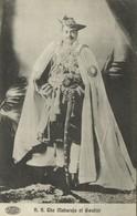 India, Maharaja Of Gwalior, Madhavrao II Scindia (1920s) Postcard - India