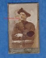 Photo Ancienne - NICE - Portrait D'un Soldat Du 2e Régiment Artillerie De Montagne Ou Bataillon De Chasseurs ? Germondi - Krieg, Militär