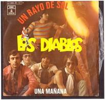 España. Disco De Vinilo A 45 Rpm. Los Diablos. Un Rayo Del Sol. Una  Mañana. Buena Condicion. - Sonstige - Spanische Musik