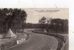 LE MANS CIRCUIT DE LA SARTHE VIRAGE EN S DE LA NOUVELLE ROUTE - Le Mans