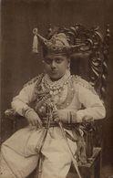 India, Unknown Raja Or Prince (1920s) RPPC Postcard - India