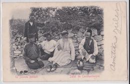 Salut De Constantinople - Un Derviche Bekatchi - Affranchissement Timbre Turquie 1902 - Turquie