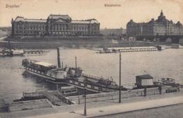 """Weiße Flotte PD """"Leitmeritz + Pillnitz"""",mit Damenbad In Dresden, Ungelaufen - Steamers"""