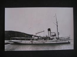 FOTO CPA TURCKEY TURCHIA NAVE NUSRAT PIROSCAFO BATEAU BOAT SHIP NAVIRE - Steamers