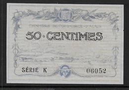 Chambre De Commerce D' Alais - 50 C - 1915  ( Pirot N° 1 ) - Chambre De Commerce