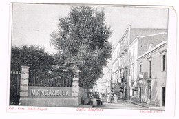 Bagnoli Napoli  Terme Manganella Animatissima Inizio 900 - Napoli (Naples)