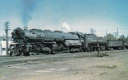 Northern Pacific's Lok No. 5107,4-6-6-4 At Laurel,Montana, Ungelaufen - Trains