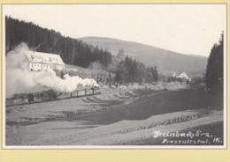 Zug Der Pressnitztalbahn Bei Steinbach (Repro), Ungelaufen - Trains