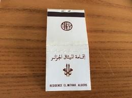 """Boîte D'allumettes Algérie """"RESIDENCE EL MITHAK - ALGIERS"""" - Boites D'allumettes"""