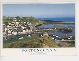 Port En Bessin, Côte Normande : Vue Générale (n°138) - Port-en-Bessin-Huppain