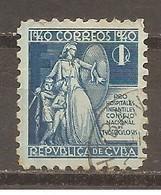 Cuba - Yvert  Beneficencia 3 (usado) (o) - Liefdadigheid