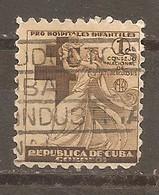 Cuba - Yvert  Beneficencia 4 (usado) (o) - Liefdadigheid