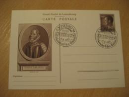 MONDORF LES BAINS Mondorf-Les-Bains 1981 Augusto Massari Prix Cancel Postal Stationery Card LUXEMBOURG Music - Musik