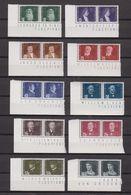 Liechtenstein 1948 Airmail / Flugpioniere 10v (pair, Corners) ** Mnh (43301) - Luchtpostzegels