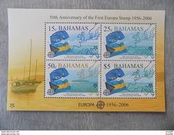 Bloc Feuillet Neuf Bahamas 2006 : Cinquantenaire Du Timbre Europa - Europa-CEPT