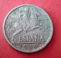 ESPAGNE 10 CENTIMOS 1940 N° 229D - [ 4] 1939-1947 : Nationalist Government