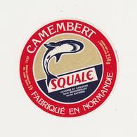 ETIQUETTE DE CAMEMBERT  SQUALE  ULN 14 BP - Quesos