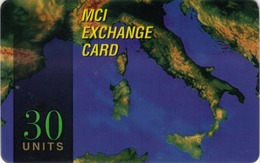NUOVA-(Mint)-- MCI EXCHANGE CARD-30 UNITS - Andere