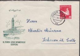 Postal History: Germany / DDR Stamp On Cover - Gymnastics