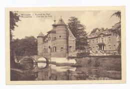 1939 WYNEGEM KASTEEL DE PULL - LEGERPOSTERIJ BELGIË POSTES MILITAIRES BELGIQUE -  WIJNEGEM EDIT. VERBAETEN WYNEGEM - Wijnegem