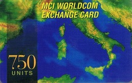 NUOVA-(Mint)-- MCI EXCHANGE CARD-750 UNITS - Andere