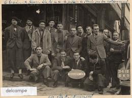 Grande Photo - Equipe De FRANCE De Rugby à 13, De Passage à Saint Denis Pour Son Entrainement Au Stade Municipal - Sport