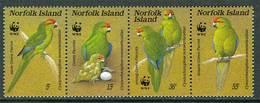 Norfolk Isl. 1987. Michel #421/24 MNH/Luxe. WWF. Parakeet (Ts39) - Norfolk Island