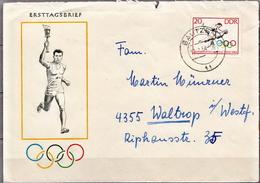 Postal History: Germany / DDR Stamp On Cover - Summer 1964: Tokyo