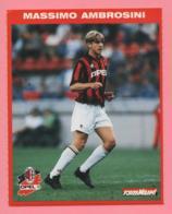 Foto Forza Milan! 1995/96 - Massimo Ambrosini Con La Opel - Sports