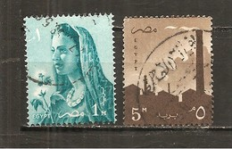Egipto - Egypt. Nº Yvert  413-14 (usado) (o) - Egipto