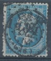 N°22 OBLITERATION SPECIALE. - 1862 Napoléon III