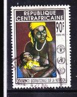 REPUBLICA CENTROAFRICANA, USED STAMP, OBLITERÉ, SELLO USADO - Central African Republic