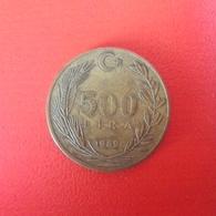 500 Lira Münze Aus Der Türkei Von 1989 (sehr Schön) - Türkei