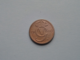 1940 G - 50 Ore ( KM 796 ) Uncleaned ! - Schweden