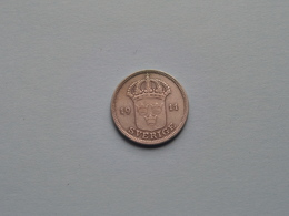 1911 W - 50 Ore ( KM 788 ) Uncleaned ! - Schweden