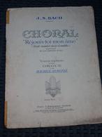 """J.S. Bach: Choral """"Rejouis-toi Mon âme"""", Transcription Pour Orgue Par Duruflé - Musique"""