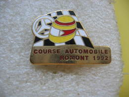 Pin's Courses, Rallyes Automobiles: Course Automobile ROMONT 1992 - Rallye