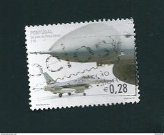 N° 2574 50 Aniv. De La Force F16 Aérienne Portugaise Timbre  Portugal Oblitéré 2002 Aviation - Oblitérés