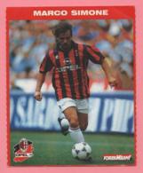 Foto Forza Milan! 1995/96 - Marco Simone Con La Opel - Sport