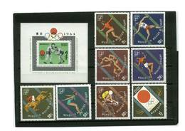 Mongolia. 1964. Sport. Olympic Games. Tokyo - Summer 1964: Tokyo