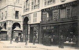 Chambéry Place Saint Léger - Chambery